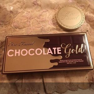 Chocolate gold eyeshadow palette - too faced